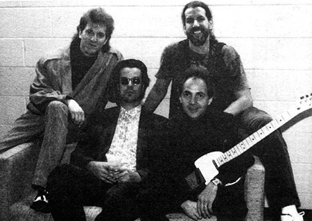 The Keaggy/Stonehill Band: Randy Stonehill, Phil Keaggy, Tim Chandler and David Raven