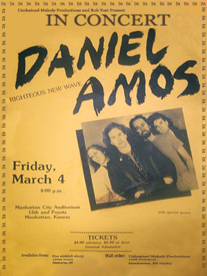 Daniel Amos Manhattan KS 1983