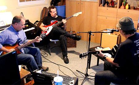 Daniel Amos rehearsal 2012
