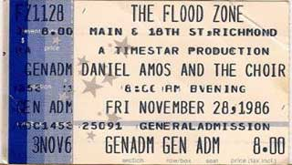Daniel Amos at the Floodzone 1986